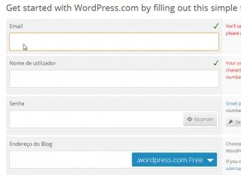 Como criar um blog no WordPress.com