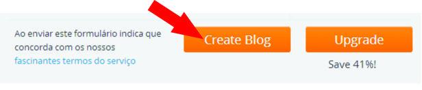 Passo 1 - Criando o Blog no WordPress