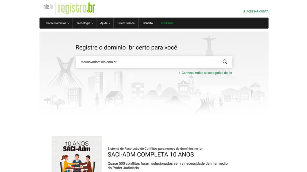 Como registrar um dominio para seu blog