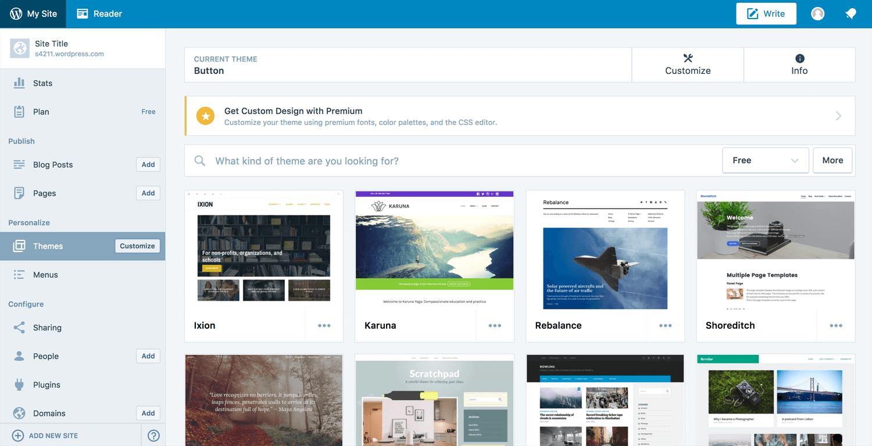 plataforma de blog gratuita wordpress